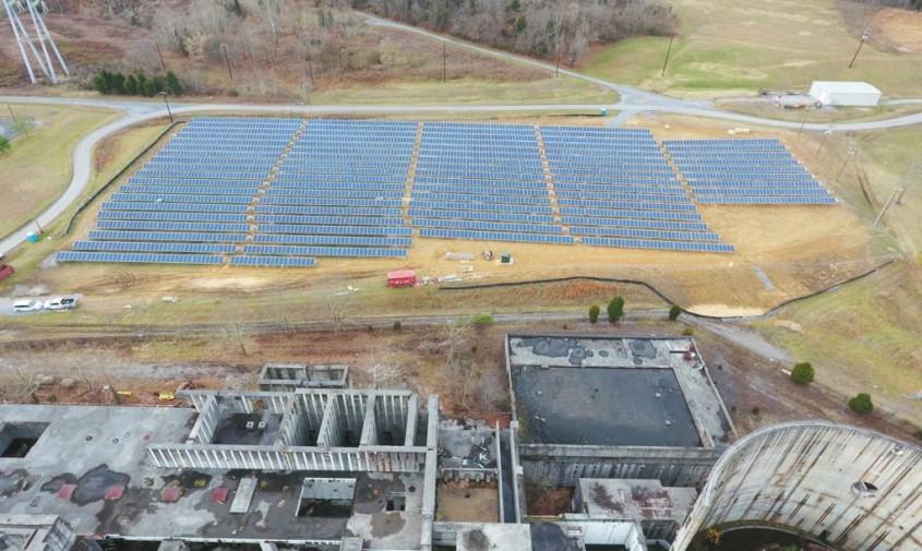 Noua ferma solara Phipps Bend - Cum poate o veche centrală nucleară să devină o fermă