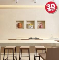 Sticker cu efect 3D - La tara - Stickere cu efect 3D