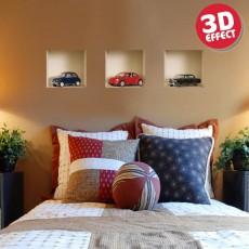 Sticker cu efect 3D - Masini - Stickere cu efect 3D