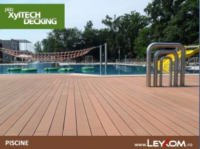 Deck compozit - piscine - Placi decking - utilizare