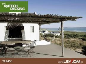Deck compozit - terase - Placi decking - utilizare