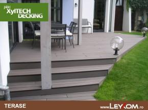 Deck compozit - Placi decking - utilizare
