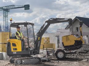 Miniexcavator - EC18D - Excavatoare compacte - Volvo