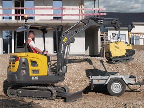 Miniexcavator - EC20D - Excavatoare compacte - Volvo