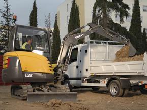 Miniexcavator -  EC27C - Excavatoare compacte - Volvo