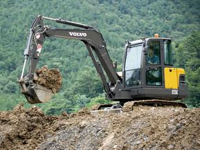 Miniexcavator - EC55C - Excavatoare compacte - Volvo