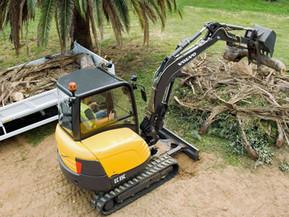 Miniexcavator - EC35C - Excavatoare compacte - Volvo