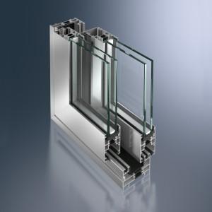 Profil glisant din aluminiu Schüco ASS 43 - Profil glisant din aluminiu Schüco ASS 43