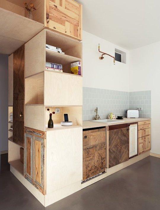 Dulapuri de bucatarie neconventionale - Idei pentru niste dulapuri de bucatarie neconventionale