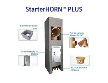 StarterHORN - Cosuri de fum ceramice