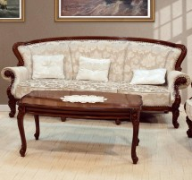 Canapea cu 3 locuri hol Firenze - Mobila pentru hol lemn masiv Firenze