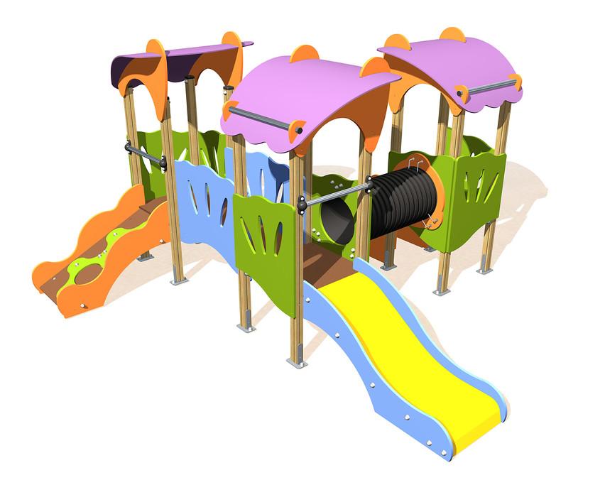 Echipament pentru loc de joaca multiplay - NOU! Echipamente pentru locuri de joaca de la Indfloor