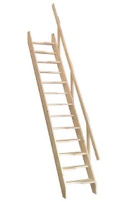 Scara din lemn Tokyo - Gama de scari SPATII REDUSE