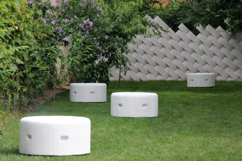Obiecte de mobilier urban construite cu blocuri YTONG la Street Delivery - Obiecte de mobilier urban