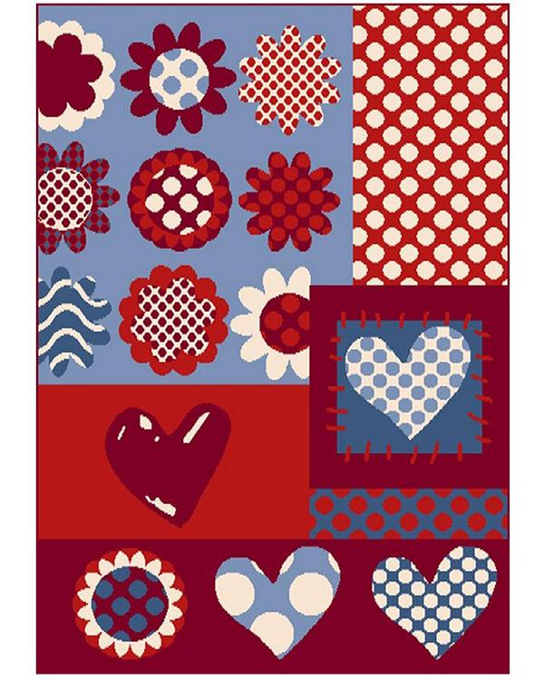 Covor Copii Polipropilena Koty Design Colectia Grande Vita CCFP-1 - 3. Camera colorata