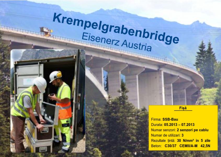 Doka Krempelgraben - Doka Concremote - monitorizarea evolutiei betonului in timp real