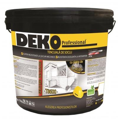 DEKO T8600 - Tencuiala de soclu cu pietre de cuart  - Tencuieli decorative