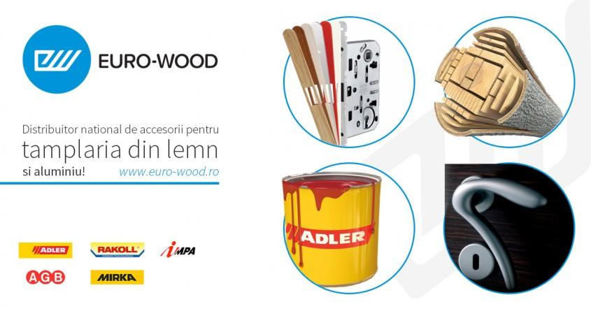 Euro-Wood aduce pe piata romaneasca ultimele noutati in domeniul accesoriilor pentru tamplaria din lemn - Euro-Wood