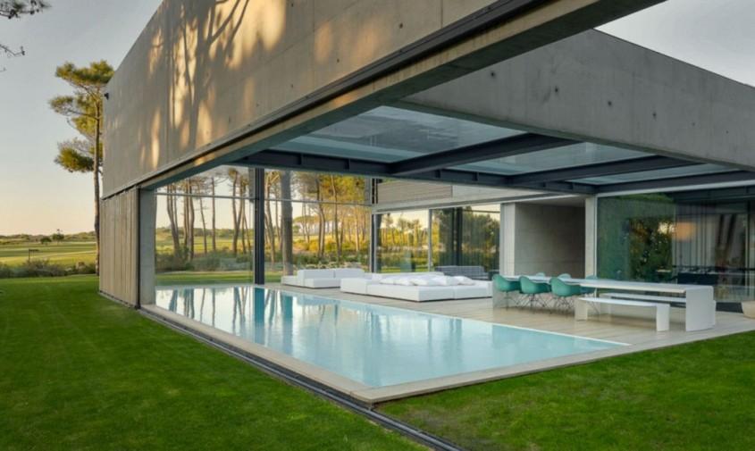 Wall House - O reședință cu două piscine, una deasupra celeilalte