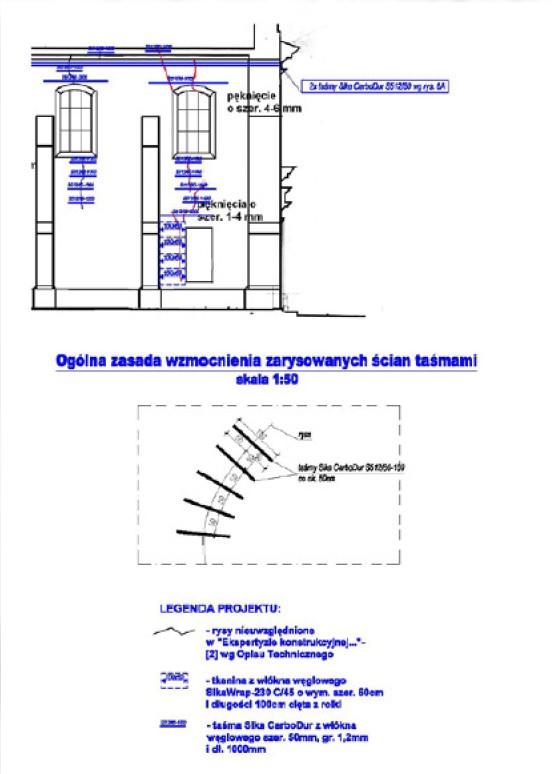 Consolidarea structurala a bisericii Sf Nicolae din Cracovia Polonia - Consolidarea structurala a bisericii Sf Nicolae