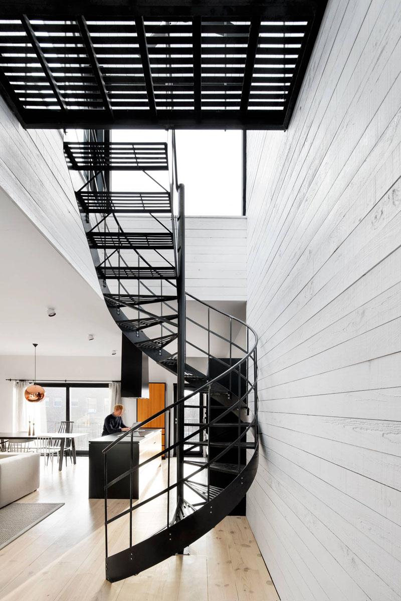 Exemple de scari elicoidale ce infrumuseteaza orice casa - Exemple de scări elicoidale ce înfrumusețează orice