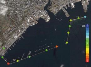 Diguri si porturi - Interferometrie radar prin satelit InSAR