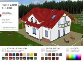 Simulator de culori pentru tigla metalica - Tigla metalica - COILPROFIL