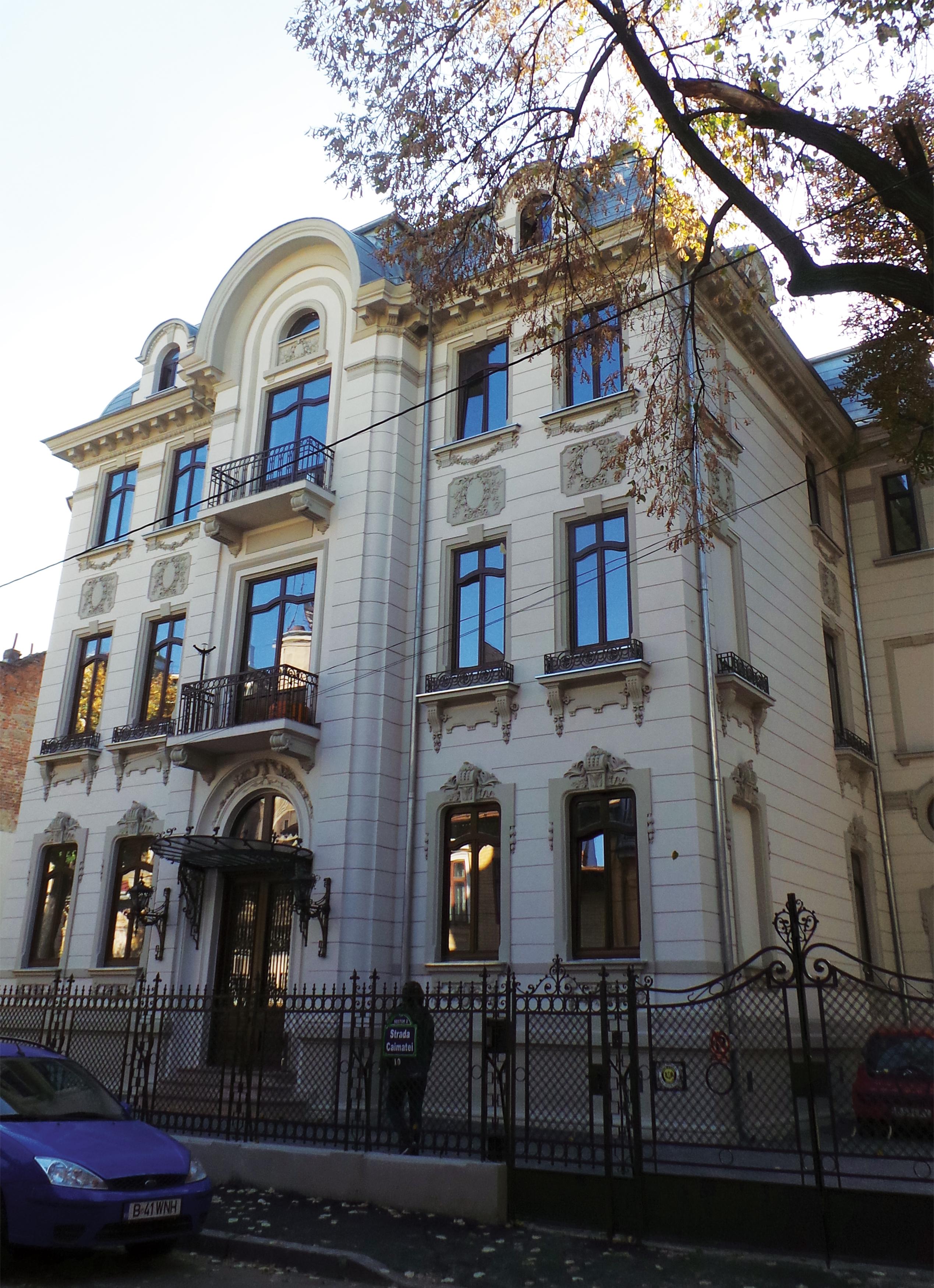 Caimatei 10 - Nominalizarile pentru Premiile Romanian Building Awards - premii de recunoastere publica a excelentei in proiectarea si executia spatiului construit din Romania