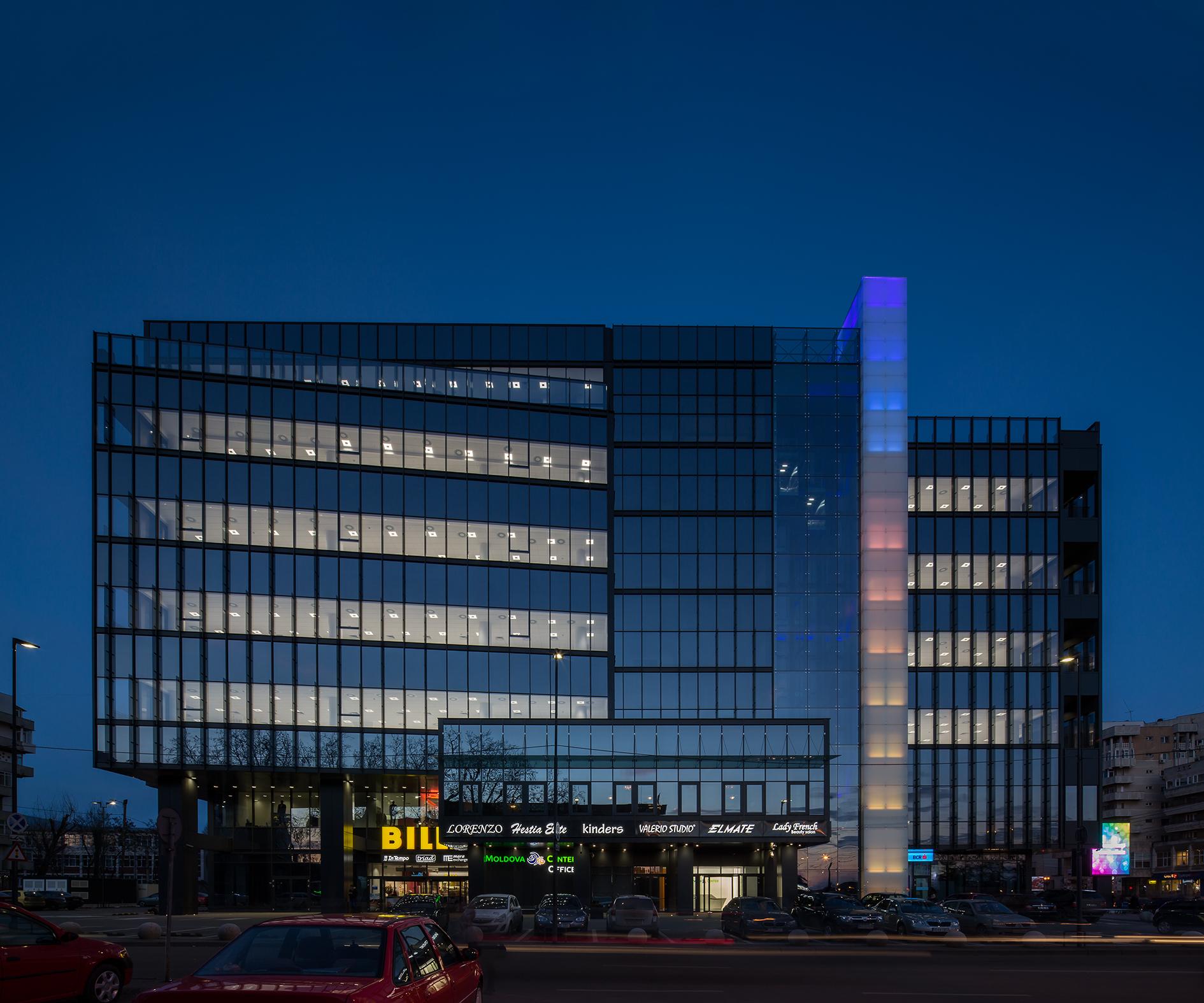 Moldova Center - Office + Retail - Nominalizarile pentru Premiile Romanian Building Awards - premii de recunoastere publica a excelentei in proiectarea si executia spatiului construit din Romania