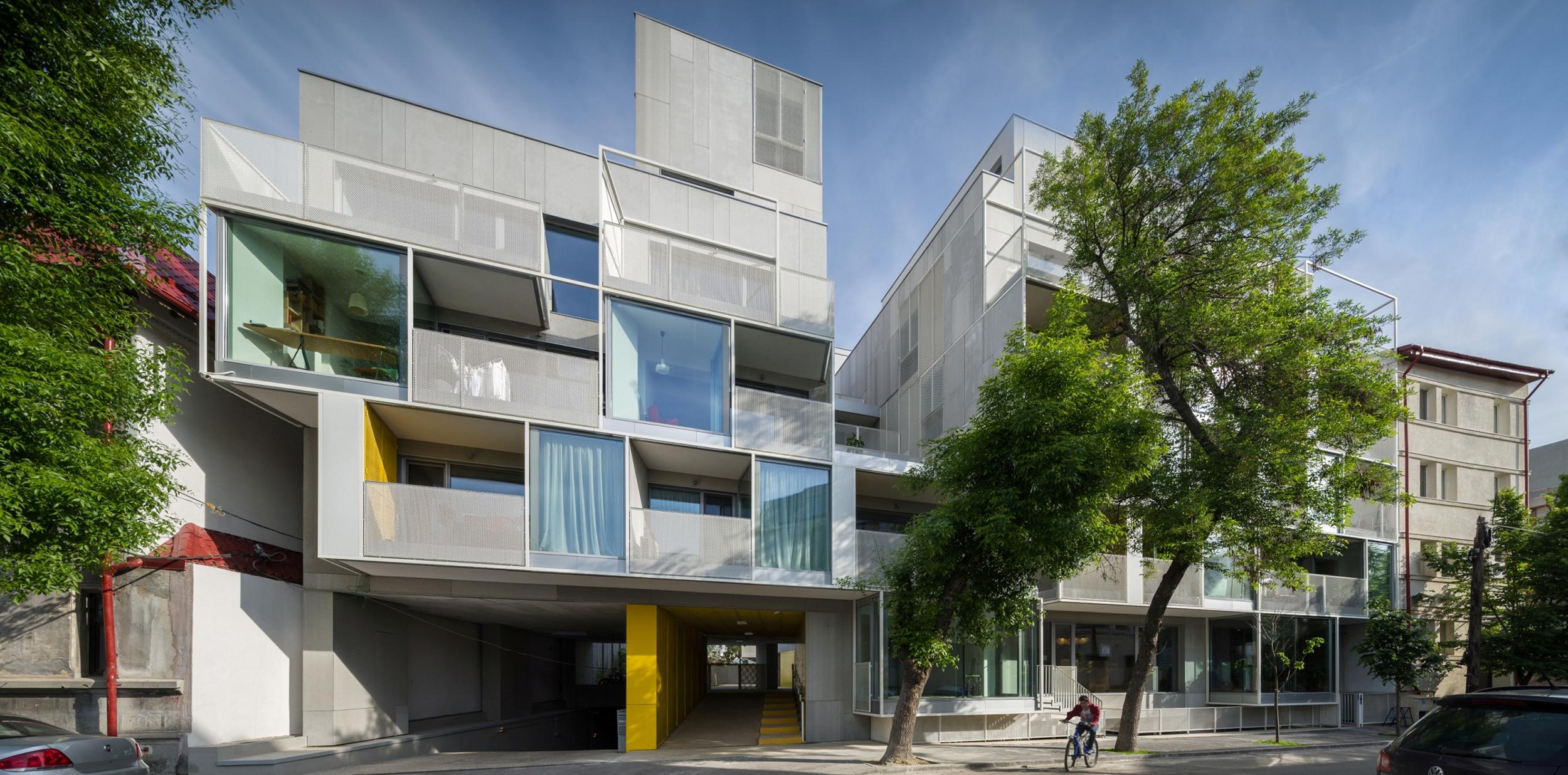 Urban Spaces / Dogarilor Apartment Building - Nominalizarile pentru Premiile Romanian Building Awards - premii de recunoastere publica a excelentei in proiectarea si executia spatiului construit din Romania