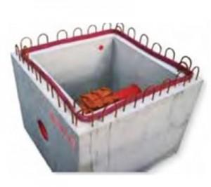 Put de control din beton - Bazine si puturi de pompa