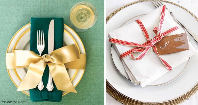 Idei simple dar memorabile pentru designul mesei de Craciun - Idei simple dar memorabile pentru designul