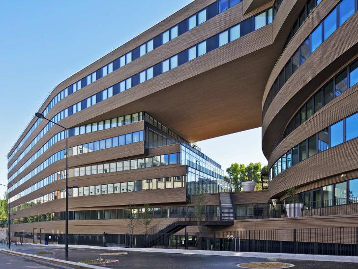 Birourile Pushed Slab - Birourile MVRDV din Paris, cladire hiper-eficienta