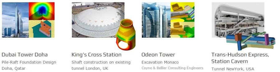 Exemple de utilizare Midas GTS NX - Midas GTS NX-Software integrat pentru proiectarea si analiza 2D/3D a structurilor geotehnice si de tunele