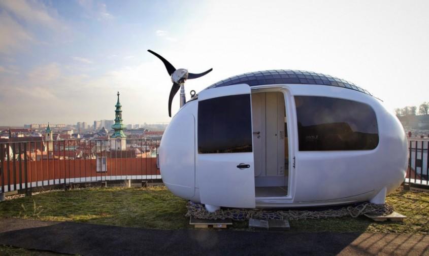 Micro locuințele eco se extind și își fac debutul în afara țării - Micro locuințele eco
