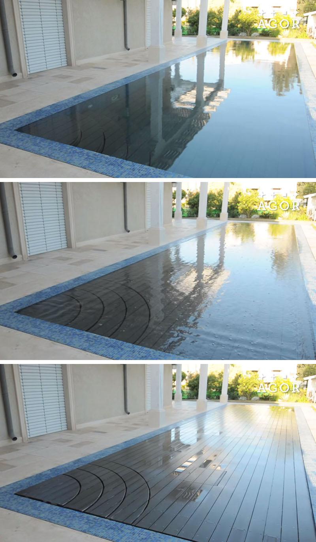 Să vezi și să nu crezi cum poate dispărea o piscină întreagă - Să vezi și
