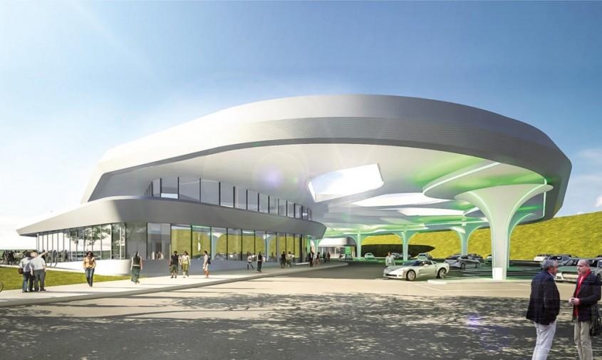Statia Innovationspark Zusmarshausen - Au fost dezvăluite planurile celei mai mari stații de încărcare pentru mașinile
