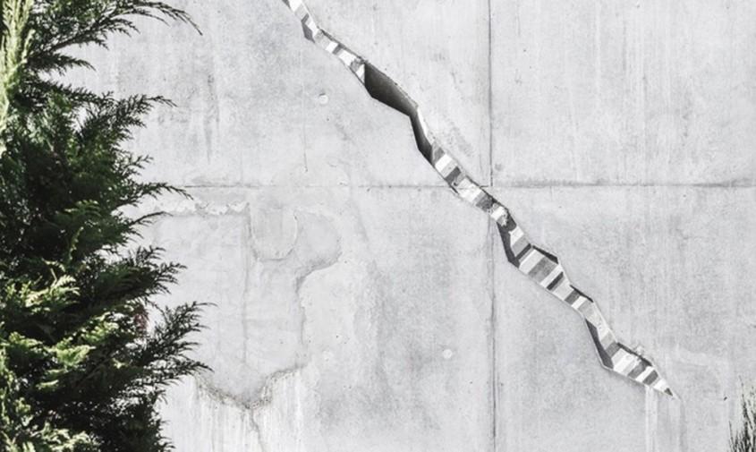 Cladirea Sonnesgade - Beton spart cu bună știință, pentru a lăsa să intre lumina