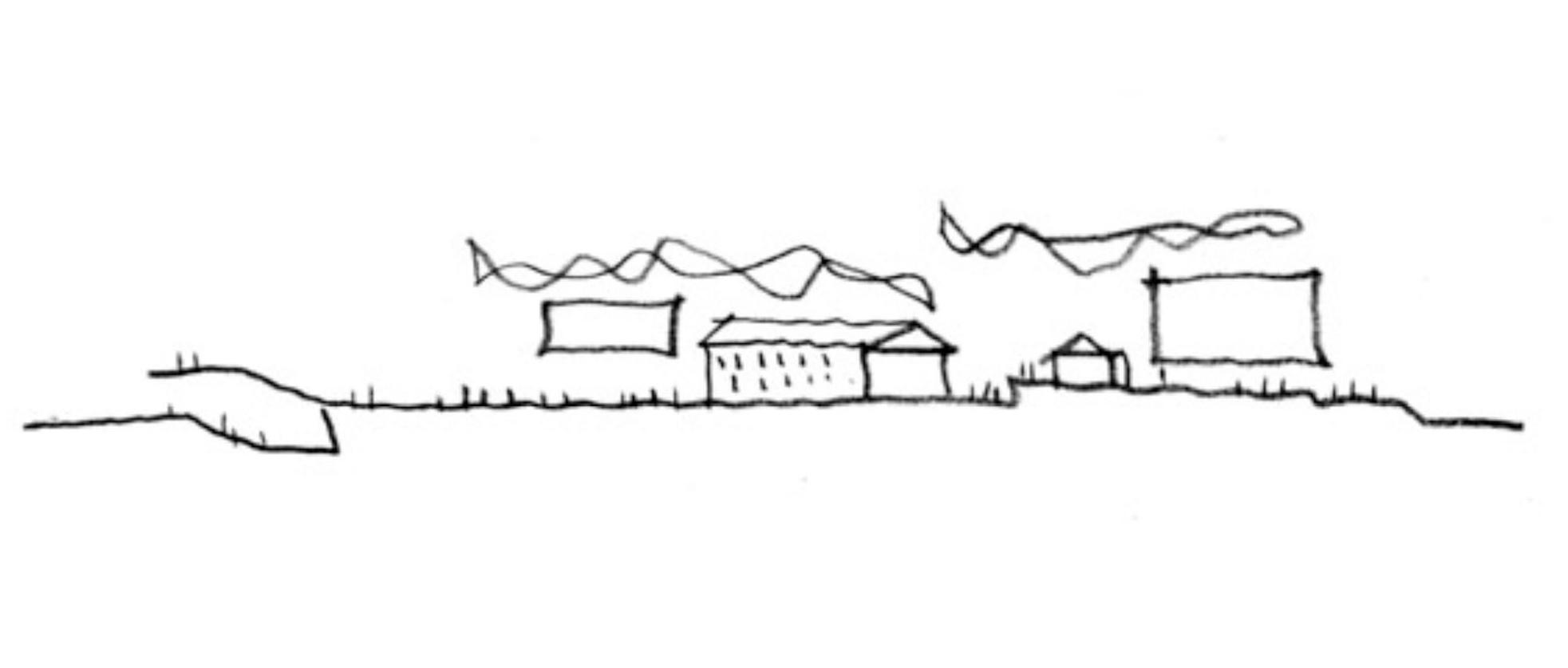 Cladirea muzeului Tazmanian - Cladirea muzeului Tazmanian - schite