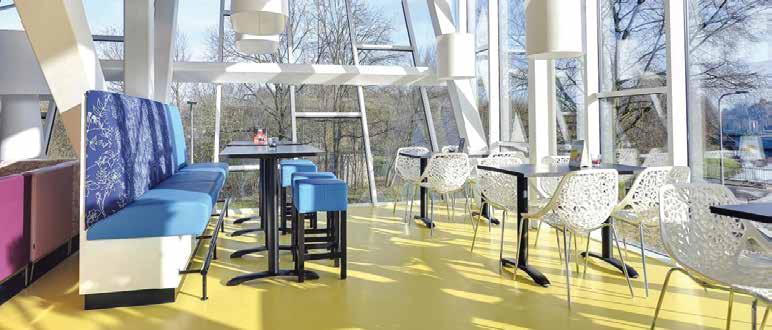 IISPA Sport Centre in Almello, Olanda. - Pardoseli decorative ComfortFloor