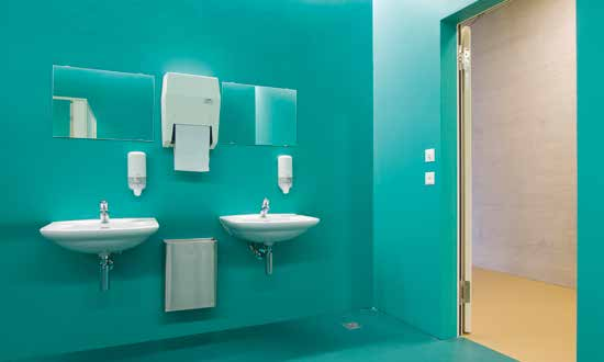 Destul de rezistent pentru o scoala in Weggis, Elvetia. - Pardoseli decorative ComfortFloor