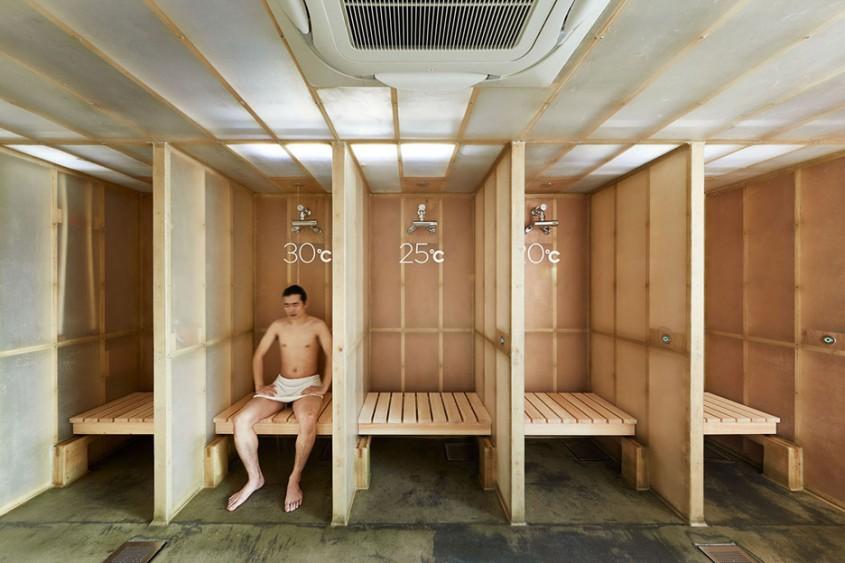 Hotelul capsulă din Tokyo cu un design contemporan dar modern cu mai multe saune - Hotelul