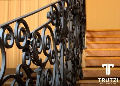 Balustrada Lecco - detaliu - Balustrade din fier forjat