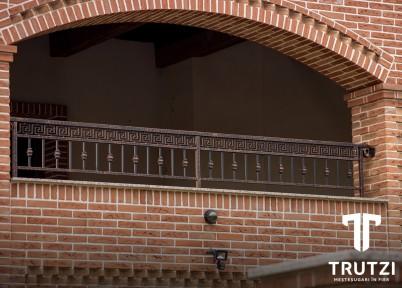 Balustrada din fier forjat - Balustrade din fier forjat