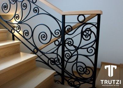 Balustrada Parma - detaliu - Balustrade din fier forjat
