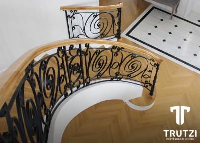 Balustrada Parma - Balustrade din fier forjat
