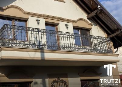 Exemplu de lucrare cu balustrada din fier forjat - Balustrade din fier forjat