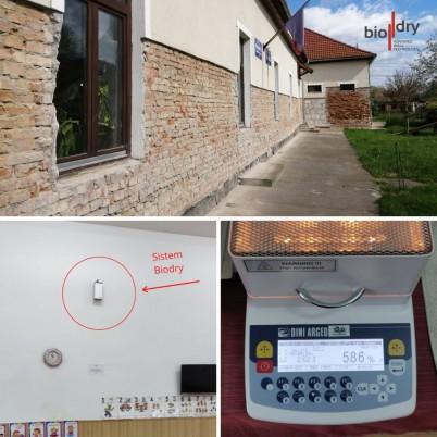 Instalarea sistemului BioDry in Gradinita comunei Panet - Proiecte BioDry Romania