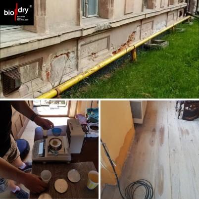 Sistemul BioDry instalat intr-o casa particulara  - Proiecte BioDry Romania