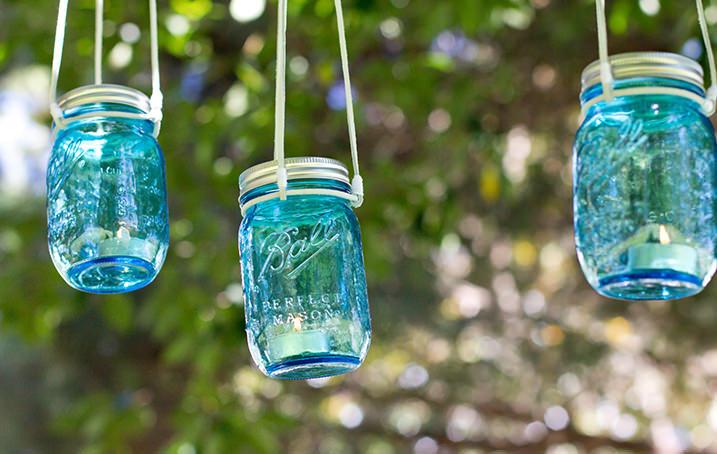 Bricolaj de vara - lumini decorative pentru curte sau terasa - Bricolaj de vară - lumini